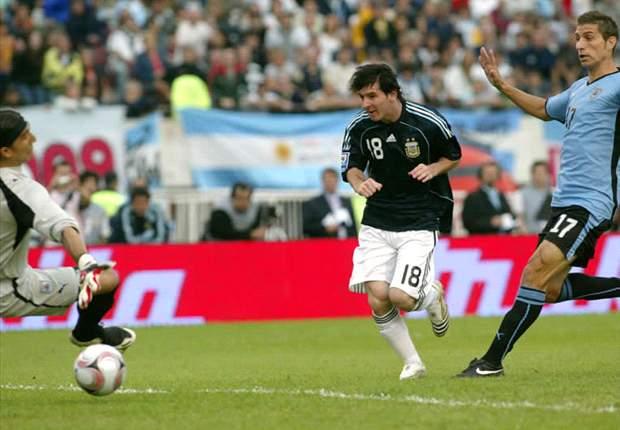 Messi More Concerned With Málaga Than Maradona