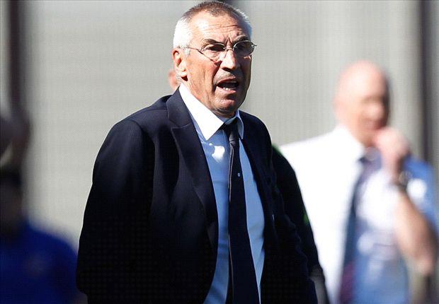 Trainer Reja ist unzufrieden nach der Heimniederlage gegen Rasgrad