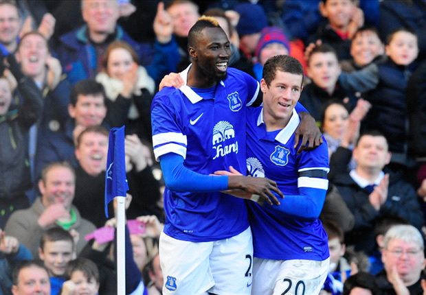 Everton 3-1 Swansea City: Traore strikes on debut as Toffees ease through