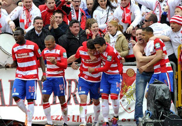 Granada 1-0 Betis: Decepción verdiblanca