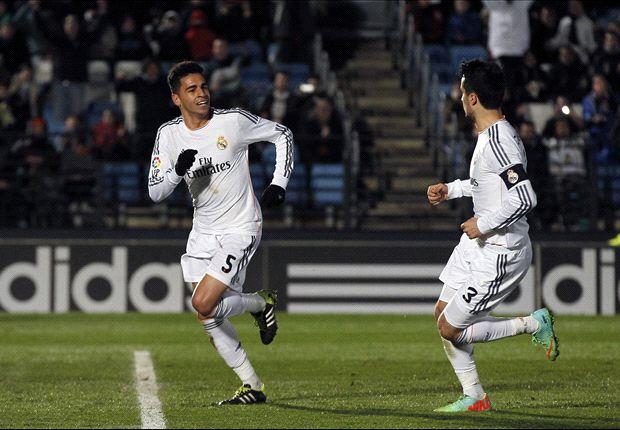 Zaragoza 0- 2 Castilla: Burgui hace de Raúl en La Romareda