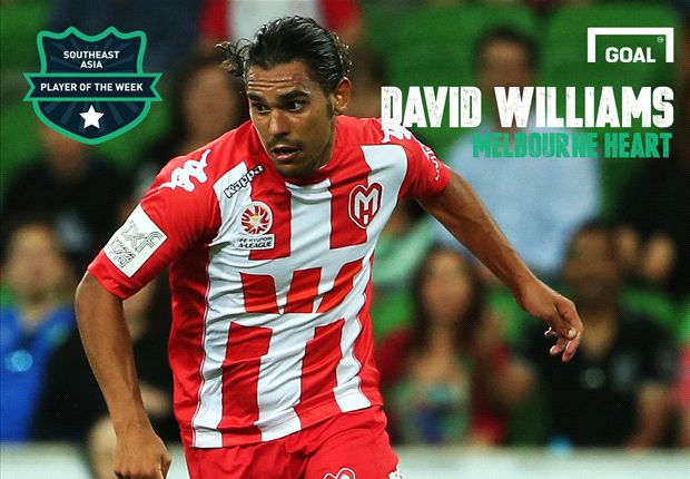 Southeast Asia Player of the Week: David Williams