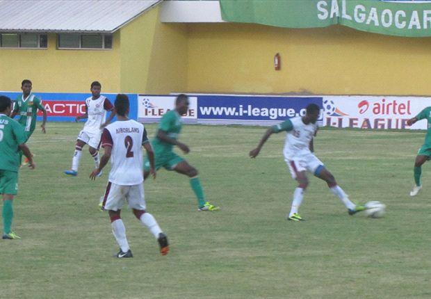 Report: Salgaocar 1-0 Mohun Bagan