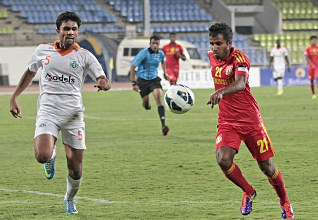 Pune FC 1-1 Sporting Clube de Goa: Haokip cancels out Beevan's first half strike