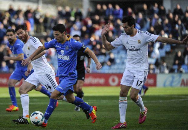Jaime Gavilán, en un partido en el Santiago Bernabéu