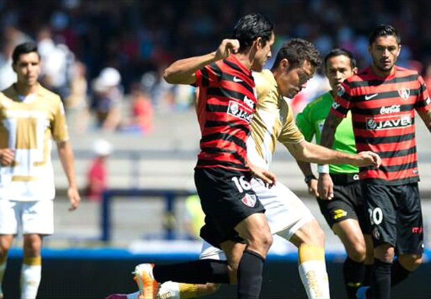 Liga Bancomer MX: Pumas 1-1 Atlas l Firman el empate