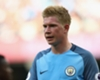 Guardiola expects De Bruyne to be back in three weeks