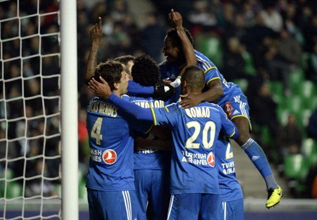 Marseille a ouvert le score