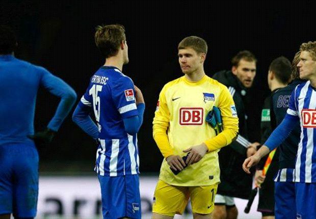 Zweite Heimpleite im neuen Jahr: Hertha BSC vergab erneut eine Führung
