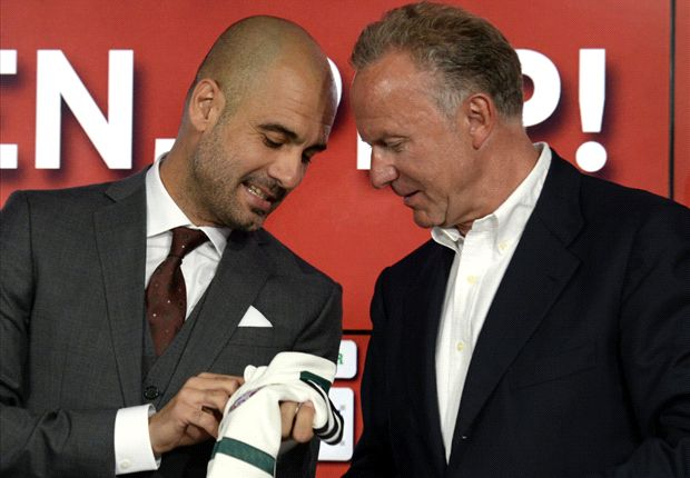 Guardiola responsible for Bayern success, says Rummenigge