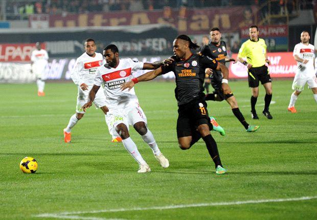 Nur ein Punkte für das Team von Galatasaray Istanbul