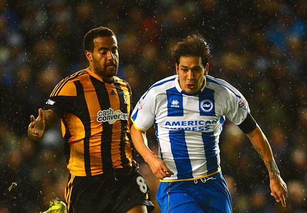 Brighton 1-1 Hull City: Sagbo strikes as Tigers avoid FA Cup upset
