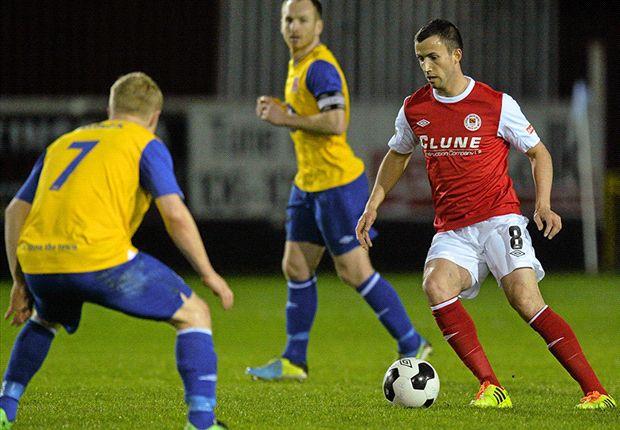 St Patrick's Athletic 2-1 Dundalk - Keith Fahey sends Saints into last eight