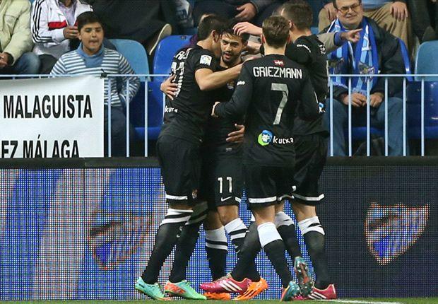 Carlos Vela scores lone goal in Real Socidad win over Malaga