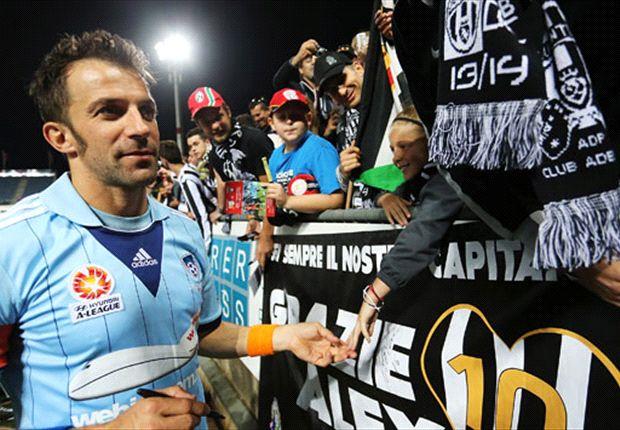 Del Piero to captain All Stars against Juventus