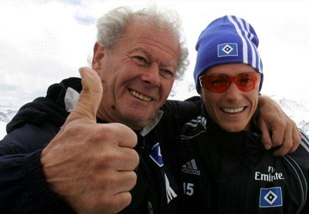 26 Jahre die Raute im Herzen: Rieger 2007 mit Piotr Trochowski