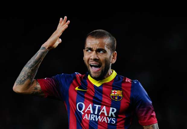 'Fans who don't trust Barca can get off the boat' - Dani Alves