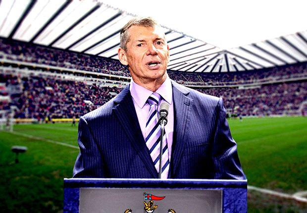 Vince McMahon Newcastle rumours 'completely false'