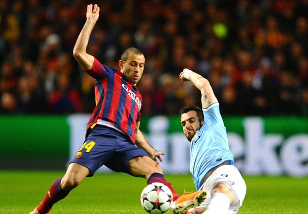 Barcelona stepped up against Manchester City - Mascherano