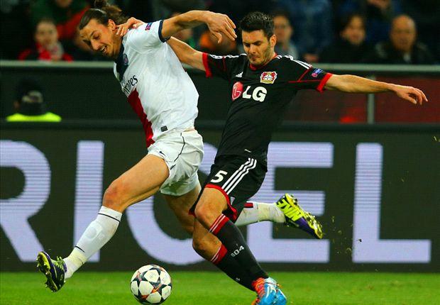 Bayer Leverkusen 0-4 Paris Saint-Germain: Ibrahimovic sparks Parisien romp