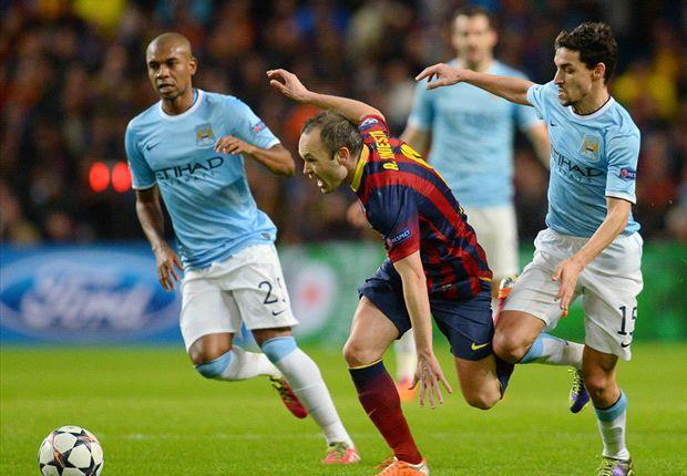 Das Hinspiel gewann der FC Barcelona mit 2:0