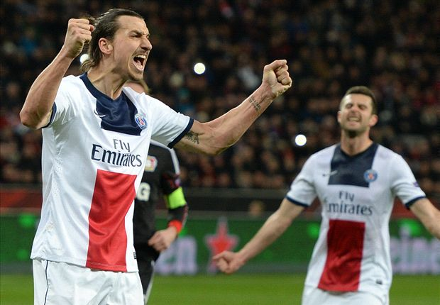 Bayer Leverkusen 0-4 Paris Saint-Germain: Ibrahimovic sparks Parisien romp