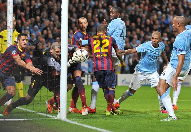 Manchester City exposed Barcelona's vulnerabilities even in defeat
