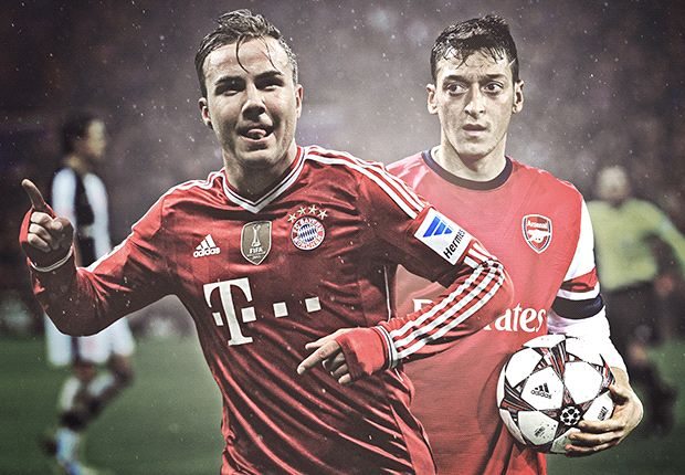 Ozil in danger of losing World Cup place to Gotze