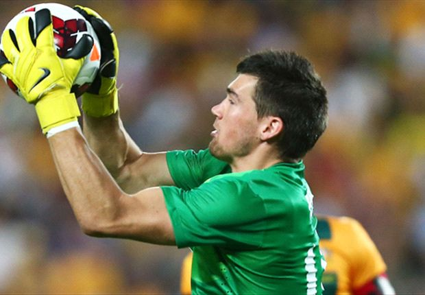 The Socceroos goalkeeper is eyeing bigger and better things