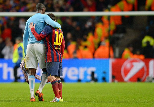 Messi undoes City while PSG runs riot - Tuesday's Champions League matches in pictures
