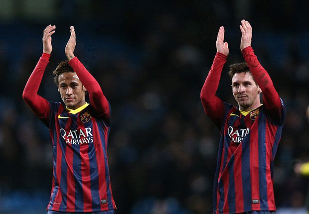 Neymar is like Messi's assistant, says Ronaldo