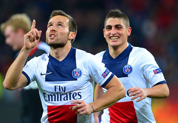 PSG 'almost perfect' against Leverkusen - Cabaye