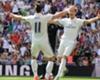 Bale en Ronaldo terug op training