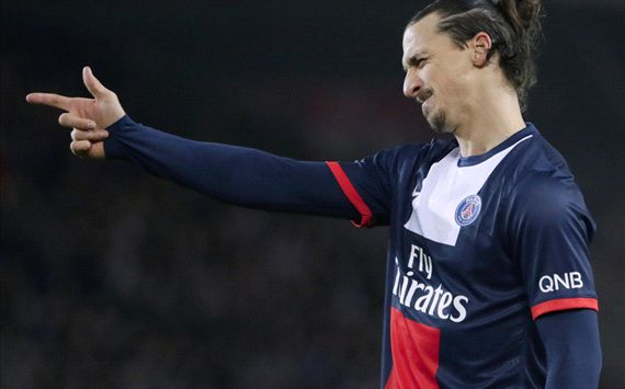 Zlatan Ibrahimovic Paris Saint-Germain
