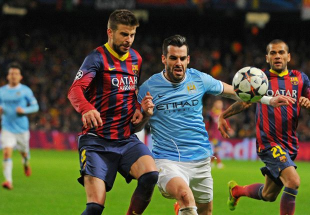 Barcelona were not causing Manchester City problems, insists Negredo