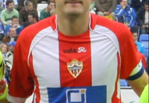 """Almería: """"Da rabia que Valdano se encierre con el árbitro"""", declara Soriano"""