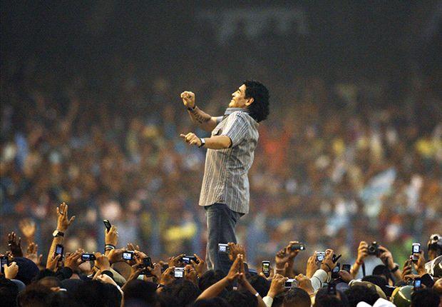 Argentiniens Weltstar Diego Armando Maradona