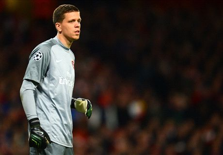 Szczesny desperate to start FA Cup final for Arsenal
