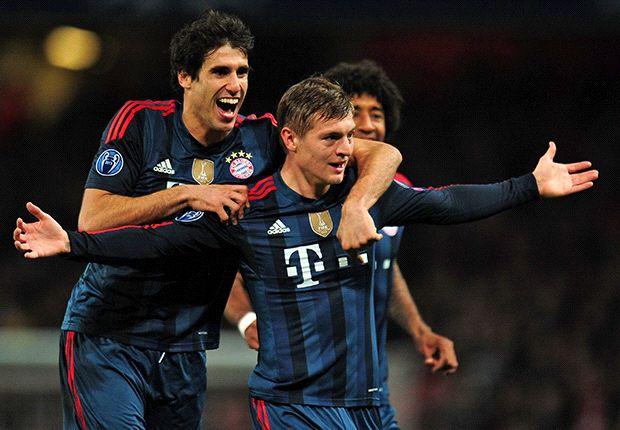 Arsenal 0-2 Bayern Munich: Kroos & Muller punish 10-man Gunners