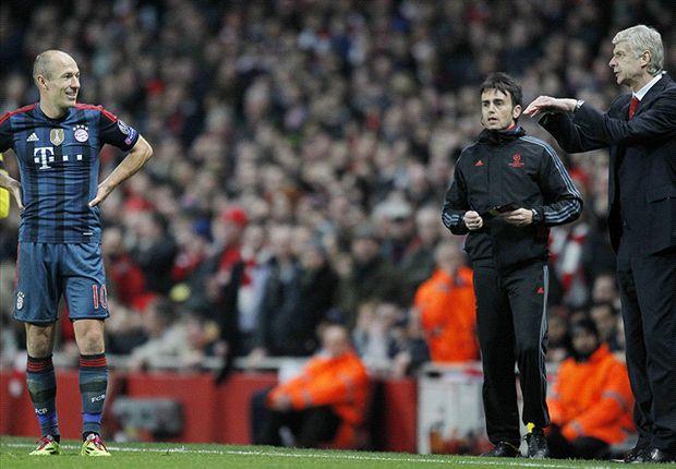"""Robben: """"Typische reactie van Wenger"""""""
