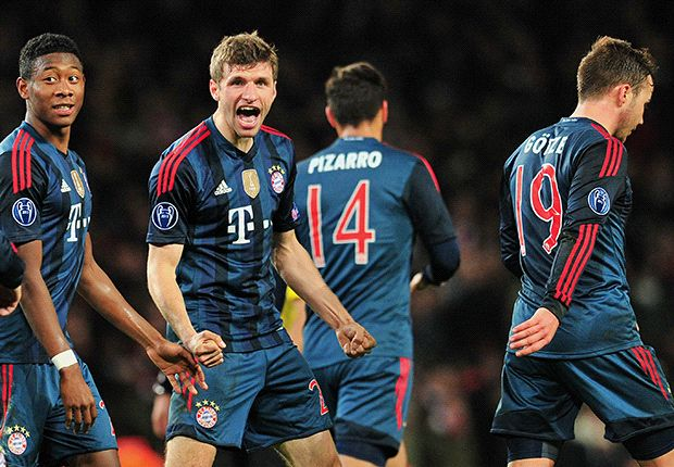 'I'm not happy with Bayern bench' - Muller