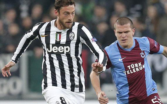 Claudio Marchisio Juventus Trabzonspor Europa League