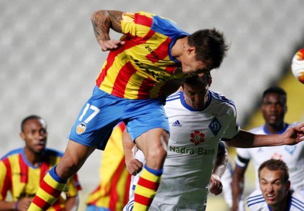 Der FC Valencia setzte sich im Hinspiel gegen Dynamo Kiew durch