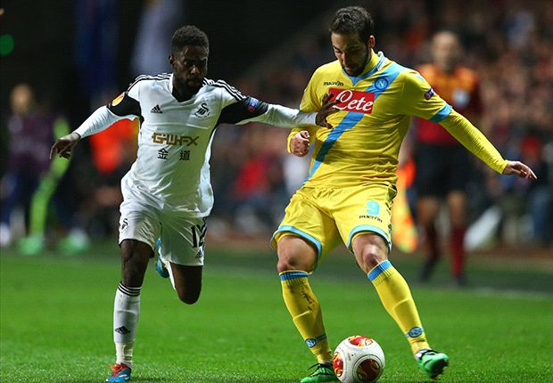 Monk: Swansea can take heart from Napoli draw