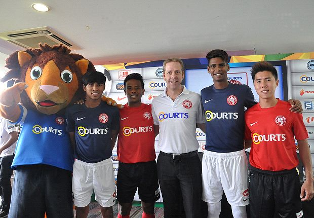 Courts renew Young Lions sponsorship