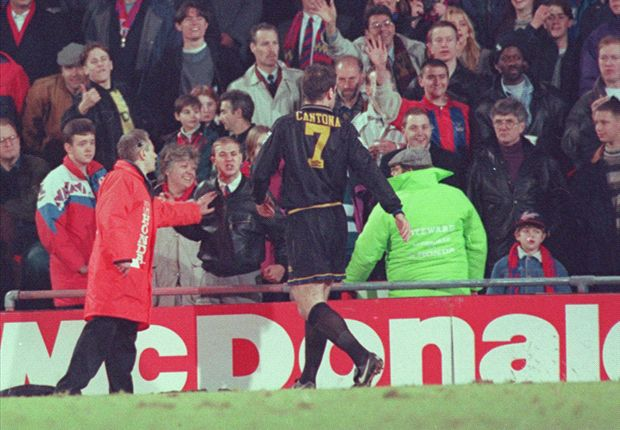 Football's JFK moment: The night Cantona's crown slipped