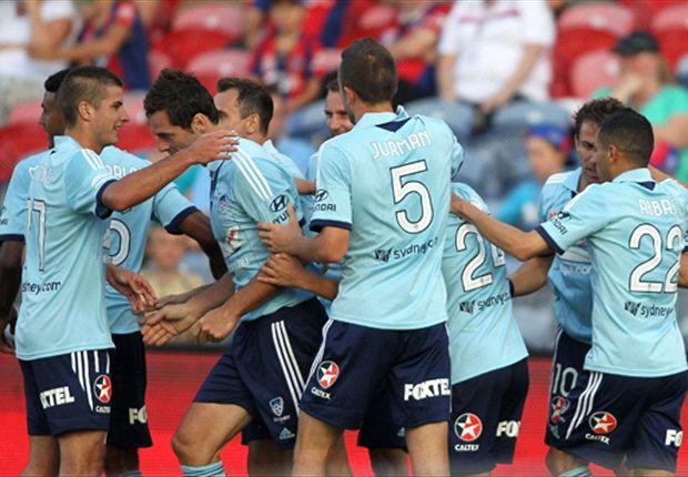 Newcastle Jets 0-2 Sydney FC: Del Piero, Ognenovski seal the points
