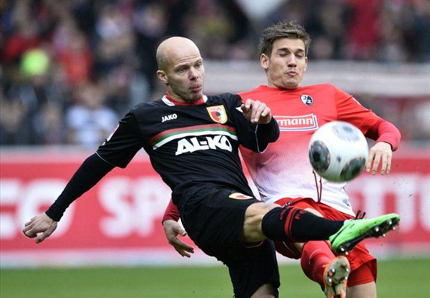 Tobias Werner traf erneut für den FC Augsburg
