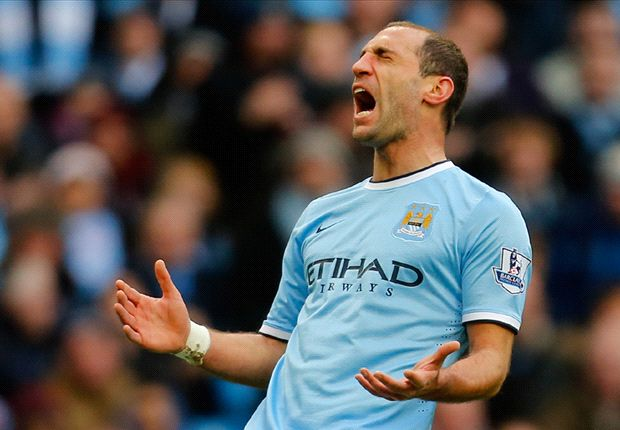 'No excuse' with title in Manchester City's hands, says Zabaleta