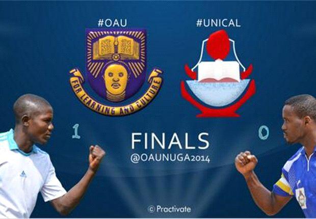 OAU wins football gold at NUGA games